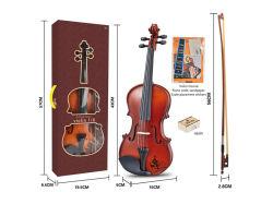 Kind-Spielzeugklassisches Ukulele-Violinen-Musikinstrument-hölzernes Violinen-Spielzeug