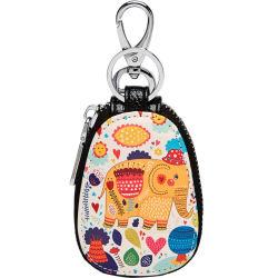 حقيبة رئيسية تخزين كارتون مدمج أنثى بسيطة وكورية لطيف حقيبة مفاتيح متعددة الوظائف كبيرة السعة صغيرة الحجم