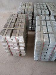 Venta de lingotes de zinc caliente de Metal Cable de cobre de 5 Zamak Zinc Metal con el precio de fábrica lingotes