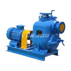 6 duim de Motor van 8 Duim of Pomp van het Afval van de Riolering van de Instructie van de Dieselmotor de Zelf Centrifugaal Ontwaterende (met Kar/Aanhangwagen)