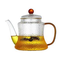 Théière en verre de thé en verre verseuse en verre Heat-Resistant Tea maker Pitcher carafe en verre de thé le thé ensemble