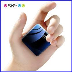 شاحن محمول بقوة 5000 مللي أمبير/ساعة ومحمول 200 مللي أمبير/ساعة مزود بشاحن صغير فائق النحافة مزود بالطاقة منفذا USB لجهاز iPhone iPad Android Samsung Galaxy