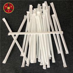 China Fabrikant Hot Sale 6mmx210mm PLA biologisch afbreekbare rechte drinkstro Papieren exemplaar met daarop een aangepast logo