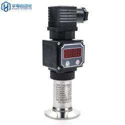 Affichage LED 20 Bar rincer le transmetteur de pression de diaphragme pour l'huile de soja