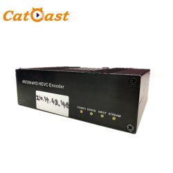 Het Niveau 3G/6g/12g SDI 4K H. 265 Ultra van de uitzending Codeur HD