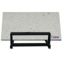 Starlight Cinzento Escuro Pedra da engenharia de lajes de quartzo, polir Pedra Quartzo Cristal, ladrilhos de pedra