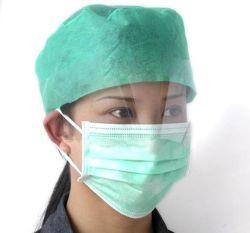 Одноразовые хирургические Non-Woven маску для лица с Ear-Loop для антивирус
