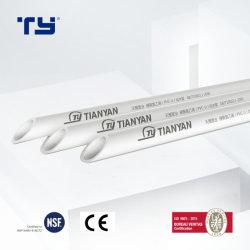 Montaje del tubo de PVC CPVC PVC (PPR PPH) Tubo de alimentación de agua de plástico Pn 0.6MPa