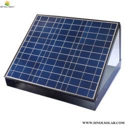 調節可能な14インチDCのブラシレスモーターPVを搭載する30Wによって太陽動力を与えられるアチックの換気(SN2014006)