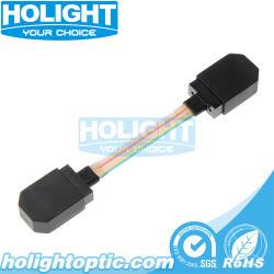 Kabel van het Flard van het Lint van de Kern van de vezel de Optische MPO aan MPO 12
