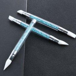 Многофункциональный профессиональный лак для ногтей - Силиконовая щетка, лак для ногтей уход за акриловой живописи нажмите щетки, маникюр продукции оптовым поставщиком