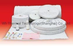 Textiles en fibres de céramique