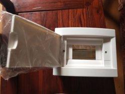 Surface en plastique ABS Cunsil pvc capot blanc Carte de distribution de coffret de distribution de l'usine Encloure en plastique