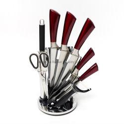 Porta do afiador utensílios de aço inoxidável cor coloridos Faca Queijo Cozinha Conjunto de Ferramentas de corte