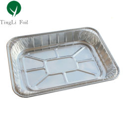 Para llevar rectangular de aluminio desechable tostar pan Turquía