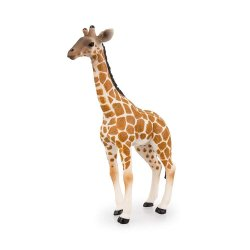 2021 تصميم جديد PVC البلاستيك زرافة حديقة الحيوانات لعبة الرسم