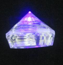 Forma de rombo OEM LED cubito de hielo