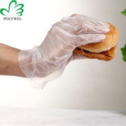 Guanti monouso in plastica biodegradabili e compostabili al 100%