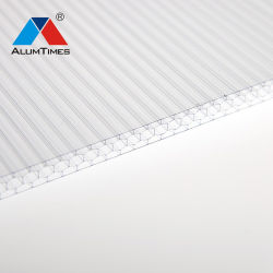 Polycarbonat-Blatt-Höhlung-Blatt-Schutz-Dach-Blatt-Solarkabinendach