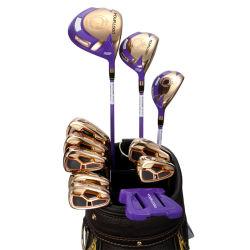 تيتانيوم جولف نوادي خشبية تصميم الأزياء مخصص لعبة الجولف رأس السائق للرجال لعبة غولف لاعبة لعبة غولف حقيبة