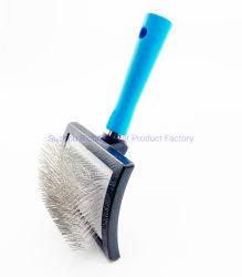 Goupilles de longue entreprise imperméable chien toilettage pour animaux de compagnie professionnelle de la brosse Groomers- facile à utiliser - confortable - Supprime les cheveux longs et lâche
