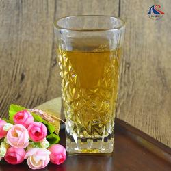 Tägliche trinkende 230ml 8oz Zylinder-runder Stich-Kristallwasser-Saft-Whisky-Glastasse tee