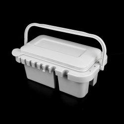 50627 Multi-Functional Plastic Paint Brush Bassin met rek en palet Voor het lakken van accessoires