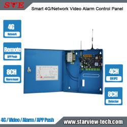 Smart 4G/Alarme de vídeo em rede APP empurre o painel de controle