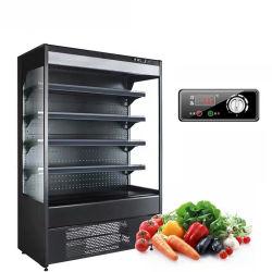Frigorifero commerciale della frutta del dispositivo di raffreddamento della visualizzazione del supermercato con lo SGS del Ce
