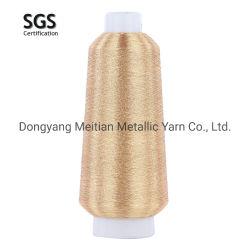 Filato metallico di colore per il filetto di lavoro a maglia del ricamo nei colori differenti