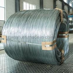 Chaud/Electro Fil en acier galvanisé à bas carbone Fil de fer pour le fabricant chinois de maillage Meilleur prix