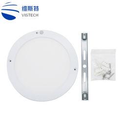 Het LEIDENE Licht van het Plafond met het Plastic Licht van het Plafond van de Sensor van de Lamp PIR van het Plafond van de Verlichting van de Tegenhanger van de Dekking Infrarode Lichte