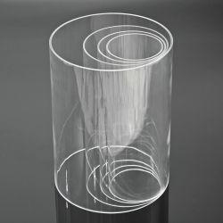 Высокая прозрачной акриловой трубки Well-Shaped Clear для упаковки продуктов питания