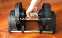 Room Use and Home Exercise Hot Selling verstelbare Dumbbell voor Thuis sportschool