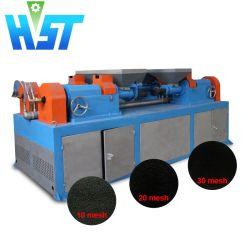 Les pneus radiaux Machine de découpe pour l'usine de recyclage de poudre en caoutchouc