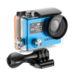 كاميرا فيديو تحت الماء H8r PRO بدقة 4K/30 إطارًا في الثانية، حوذة حساس سوني Ambarella A12 كاميرا رياضية WiFi مزودة بوحدة تحكم عن بُعد 2.4 جيجاهرتز