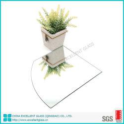 Размер резки безопасности полированным Silver декоративные зеркала зеркала заднего вида с виниловых пластинок обратно пленки PE