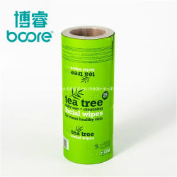 Oem Eco-Friendly Chocolate Coffee Milk Powder Sachet Customized Film Roll Aluminium Foil Food Laminated Packaging Film