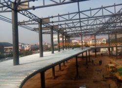 Structure en acier de construction de bureaux commerciaux encadrées, d'acier de construction préfabriqués
