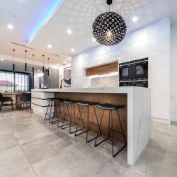 Armários de cozinha de design moderno apartamento de Projeto