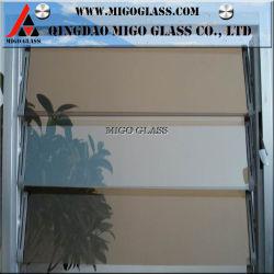 5mm de 6mm/bronze clair/bleu/vert/Nashiji/obscurci la lame de verre d'aération