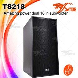 Altavoz de DJ Subwoofer del profesional Ts218