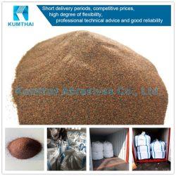 고품질 Waterjet 절단 모래 분사를 위한 자연적인 석류석 연마재