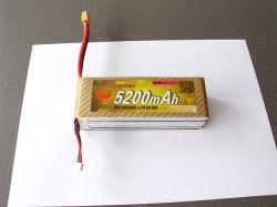 Polímero de Litio recargable 5200mAh de 22,2V para hacer Fpv UAV