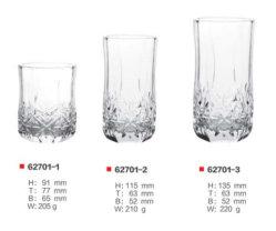 Whisky-Glas-trinkende Cup-altmodischer Kristall - freies Geschenk-gesetztes Wein-Glas-Set