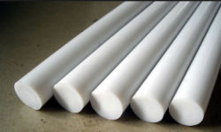 Tige PTFE surmoulé blanc feuille de PTFE pour joint d'isolement