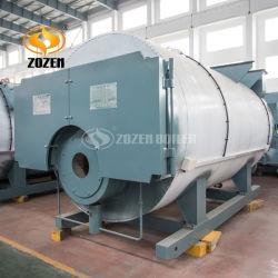 Tube de combustion horizontale 5.6MW chauffe-eau au gaz