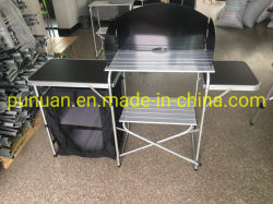 Camping pliable en aluminium/armoire de stockage de stockage