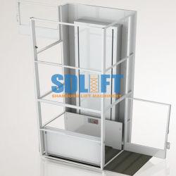 1-12mのセリウムが付いている電気油圧車椅子用段差解消機のホームに禁止状態にされた上昇のエレベーター