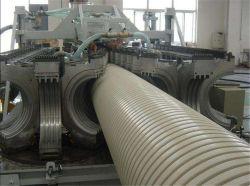800mm en color blanco de doble pared corrugado plástico Tubo de PVC
